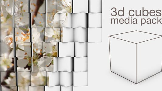 Thumbnail for 3d Cubes - Media Pack