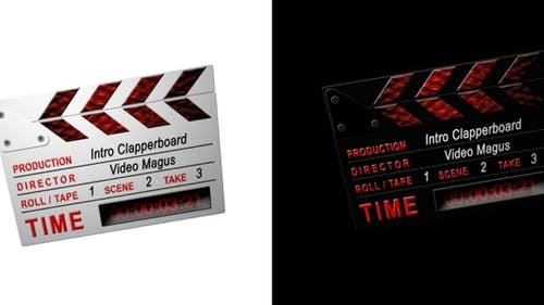 Intro Clappers - 2 in 1