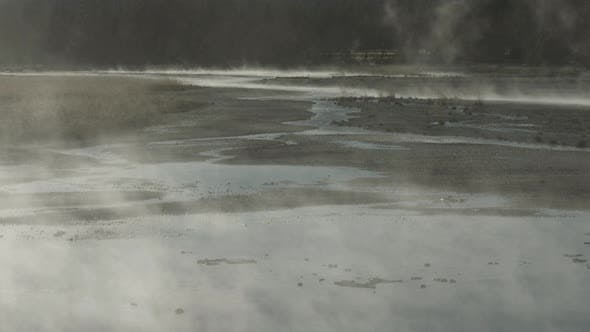 Thumbnail for Steaming pool in Yellowstone National Park
