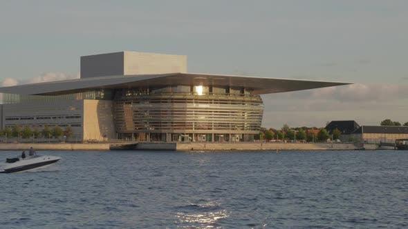 Thumbnail for The Copenhagen Opera House on the Shore