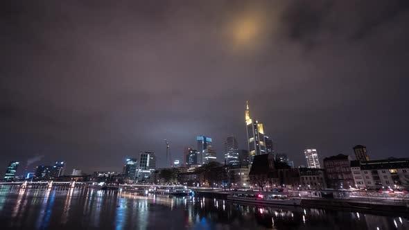Thumbnail for Timelapse of Main River and Frankfurt