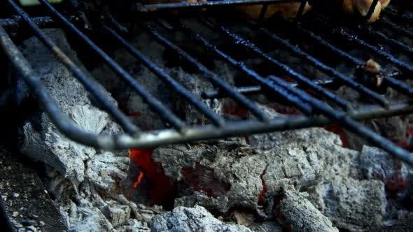 Cover Image for Chicken Barbecue On Coal Fire 1