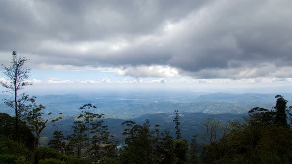 Thumbnail for Aerial Landscape View From the Mountain in Sri Lanka