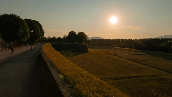 Tuscan Countryside in Lucca, Italy