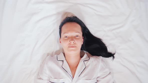 Thumbnail for Sleepy Brunette at Home