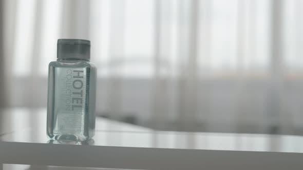 Hygiene set in the hotel