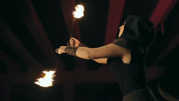 Thumbnail for Magnificent and Risky Fire Dance