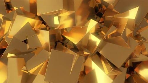 Golden Boxes Bg