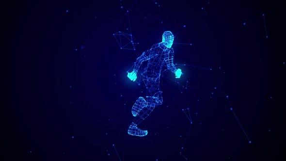 Thumbnail for Stardust Running Man 360 Grad Ver. 2