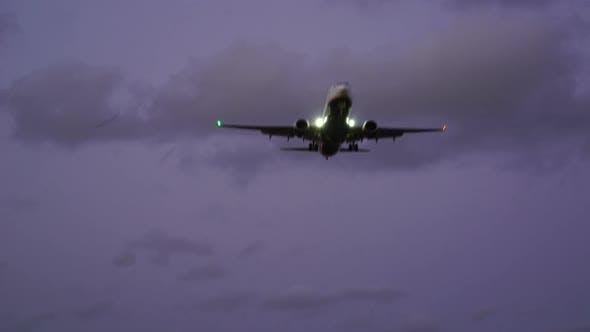 Thumbnail for Airplane Take Off at Night