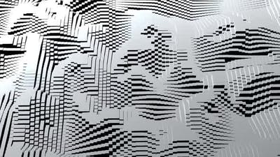 White and Black Waves