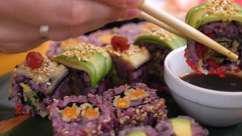 L'art de la dégustation de sushis
