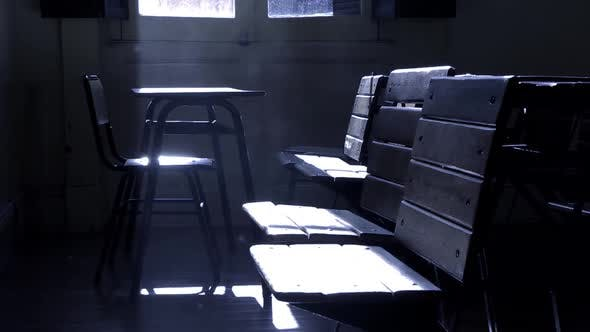 Thumbnail for Dust Particles in the Empty Classroom.