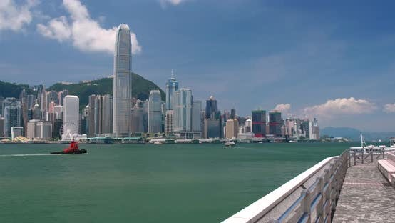 Thumbnail for Hong Kong urban city skyline