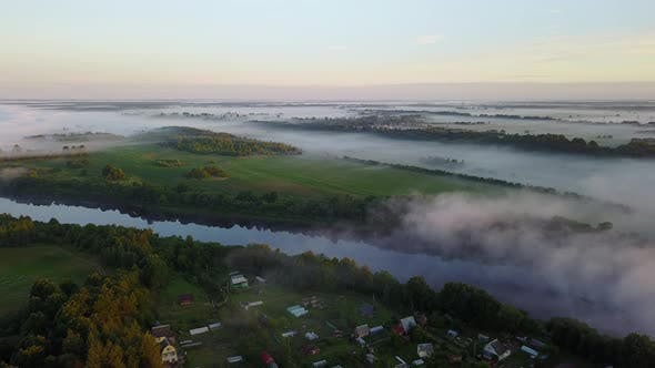 Thumbnail for July Morning. Fog Over The River