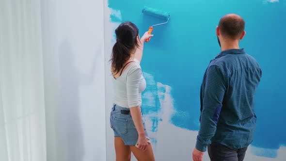 Thumbnail for Adults Painting Wall