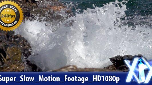 Waves Super Slow Motion 240fps