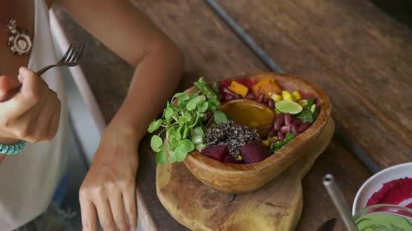 Thumbnail for Clean Healthy Detox Eating Vegan Food