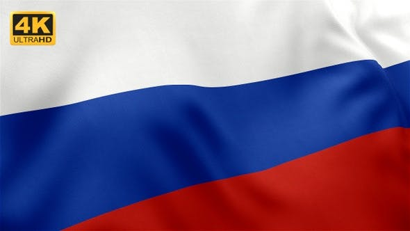 Cover Image for Russia Flag - 4K