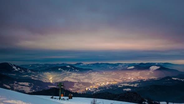 Thumbnail for Milky Way Time Lapse in Carpathian Mountains