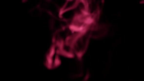 Thumbnail for White Smoke with Purple Light, on Black