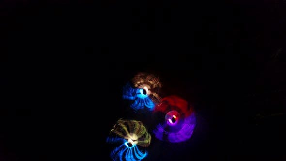 Thumbnail for Dancing Girls in LED Costume