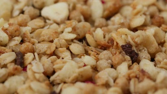 Thumbnail for Stack of oat cereal breakfast