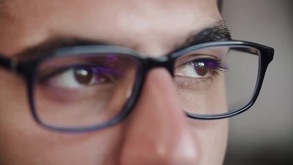 Thumbnail for Männliche Augenoptik