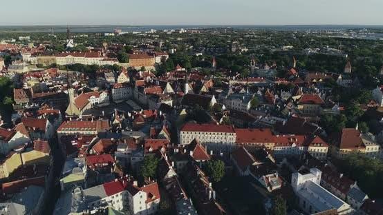Thumbnail for Air View of Tallinn Old Town