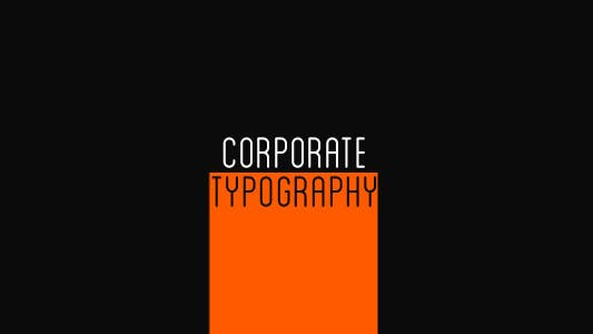 Thumbnail for Corporate Typography