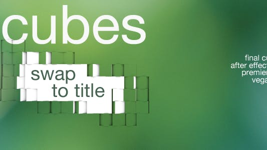 Thumbnail for Cubes - Swap To Title