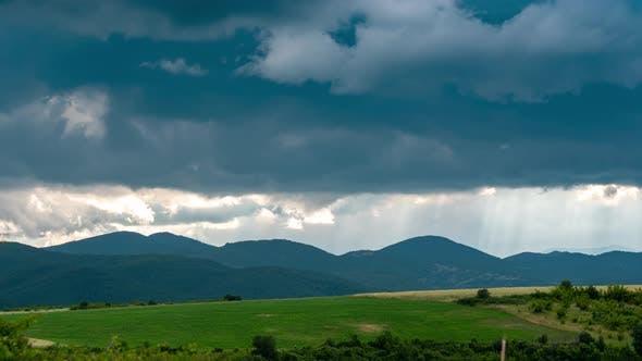 Nature Cloudy Landscape 3