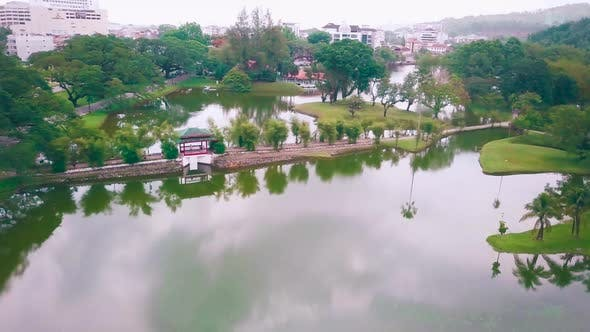 Thumbnail for Taiping Lake Drone Shot