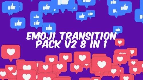 Transitions Facebook Emoji Pack V2 8 In 1