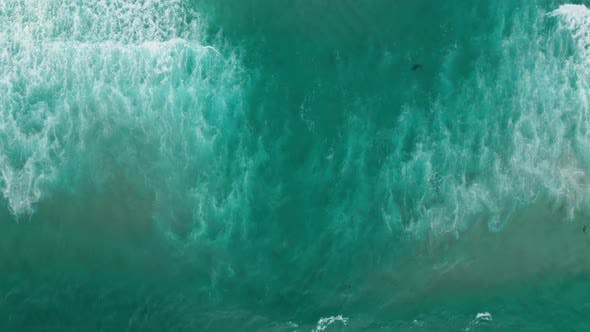 Thumbnail for California, Pacific Ocean Seascape, USA. Beautiful Nature of Ocean Coastline