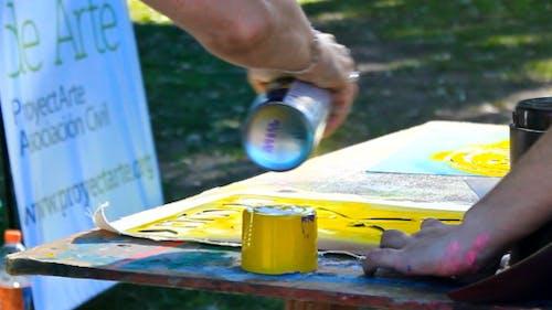 Stencil Technique