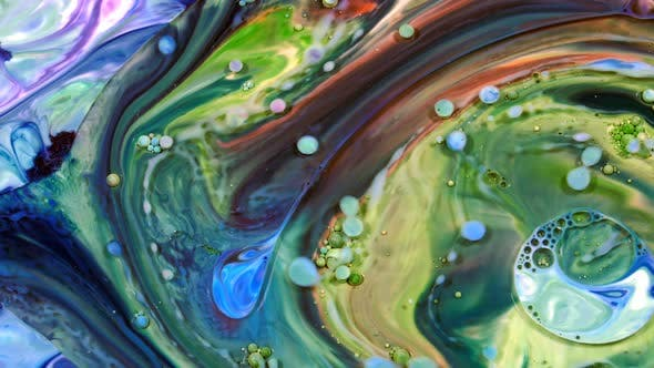 Cover Image for Abstract Colorful Paint Liquid Artistic Movement