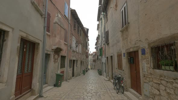 Thumbnail for Old houses on a street in Rovinj
