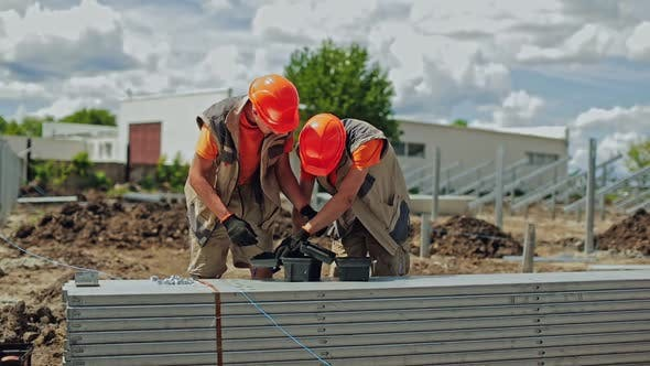 Thumbnail for Solar plant construction
