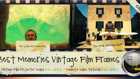 Cover Image for Best Memories Vintage Film Frames