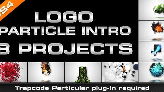 Thumbnail for Logo Particle Introducción (8 en 1)