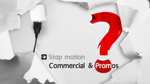 Stop Motion Commercial & Promos