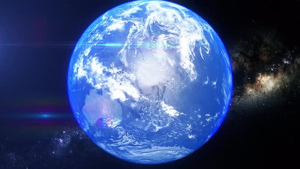 Realistic Earth Zoom Iran
