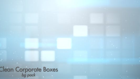 Clean Corporate Boxes-Bg Pack