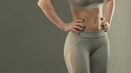 Sports Body Shape and Fitness Concept