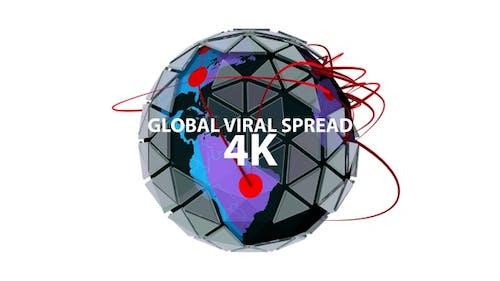 Global Viral Spread 4K