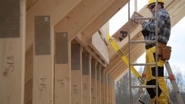 Wooden Roof Skeleton Frame Building