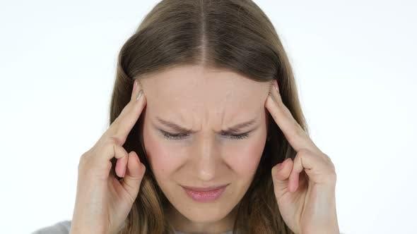 Thumbnail for Headache, Woman with High Blood Pressure