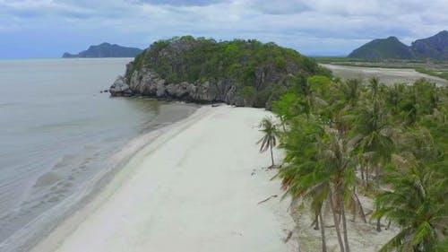 Sam Phraya Beach in Sam Roi Yot National Park in Prachuap Khiri Khan Thailand