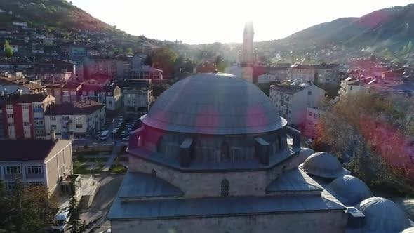 Thumbnail for Mosque And Minaret Aerial View